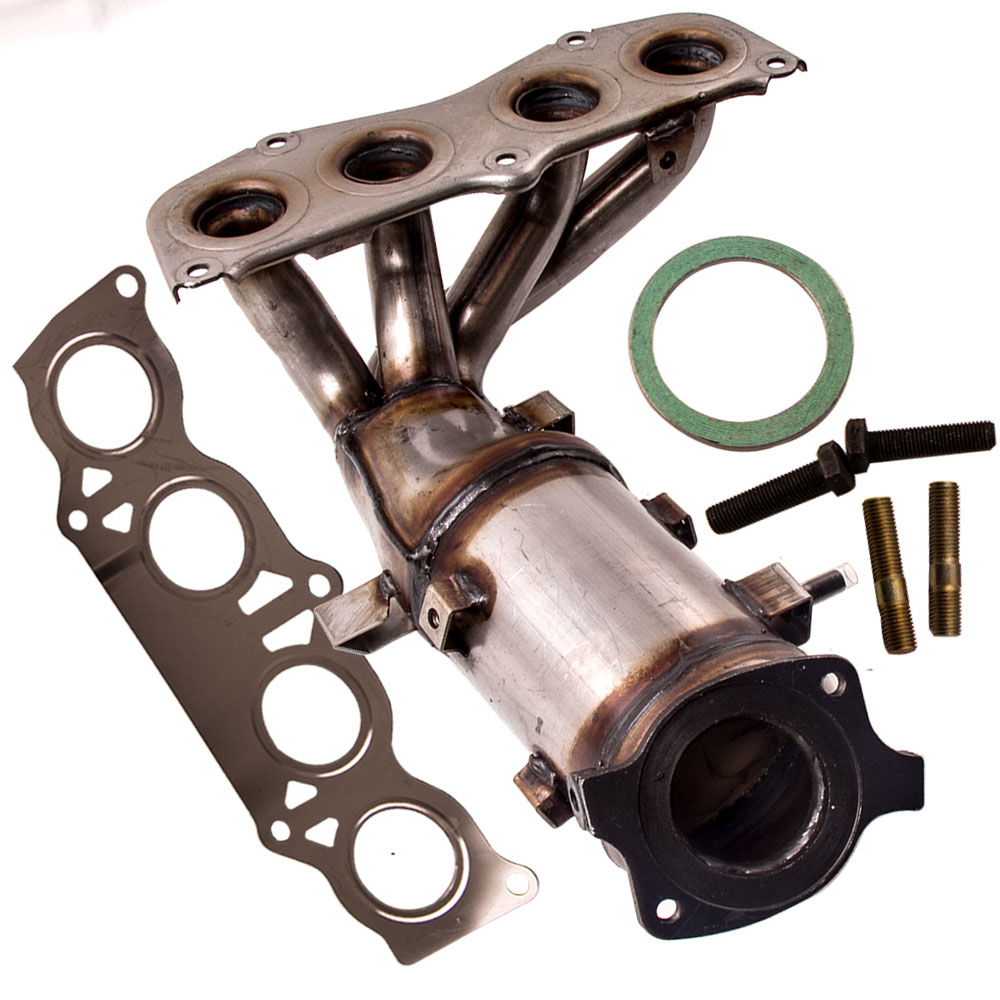 Exhaust Manifold Catalytic Converter with Gasket Bolts Fit Toyota Camry Solara