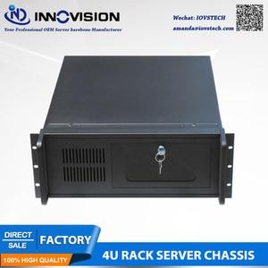 Image 2 - Промышленный компьютер RC530 4Urack mount chassis/4U Серверный корпус для промышленного управления и т. Д.