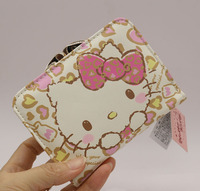 Hello Kitty Fashion Short Wallet Female 2016 News Hasp Famous Brand Cat Women Wallets High Quality