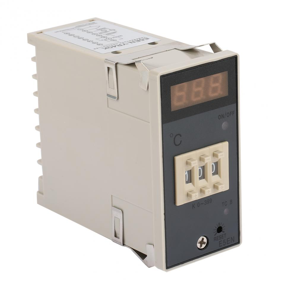 E5EM Digital Thermostat 0-399° Temperature Controller With K Type Thermocouple