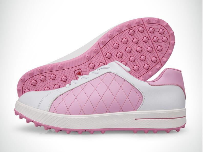 Высокое качество! PGM Гольф обувь противоскользящей дышащая обувь лакированные женские супер дышащие женская спортивная обувь, Бесплатная д...