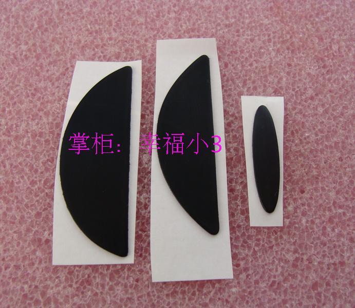 1 Conjunto Original 3 M Ratón Pies Mouseskat Para Logitech G500 G500s G5 G7 0,5mm De Teflón De Alfombrilla De Ratón Textura Clara