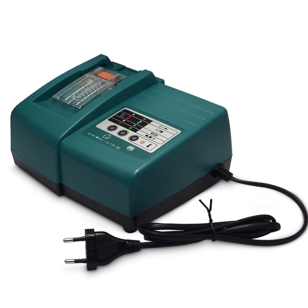 Chargeur de batterie Li-ion pour Makita 14.4 V 18 V 1.5A courant de charge BL1830 Bl1430 DC18RC DC18RA chargeur de batterie outil électrique prise EU