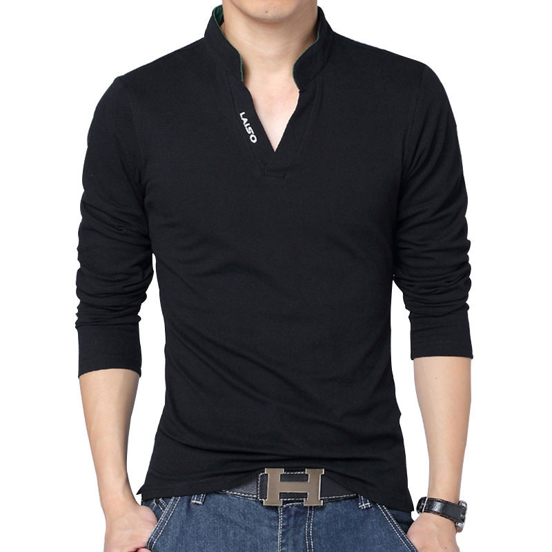 Buy new spring autumn cotton solid color for Where to buy casual dress shirts