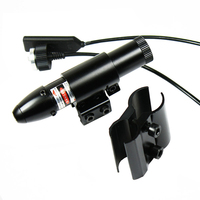New Tactical Optical Bullet Head Laser Aiming Green Red Point Laser 11mm 20mm Ray Mount