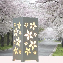 110V/220V bedside table lamp modern minimalist bedroom decoration with aromatherapy hollow carved night light