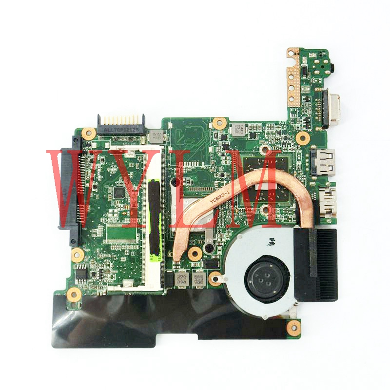 free shipping 1015B mainboard REV1.2G For ASUS EEE pc 1015B Laptop motherboard 100% Tested Working fully tested free shipping 1015bx mainboard rev2 1g for asus eee pc 1015bx laptop motherboard 100% tested working fully tested