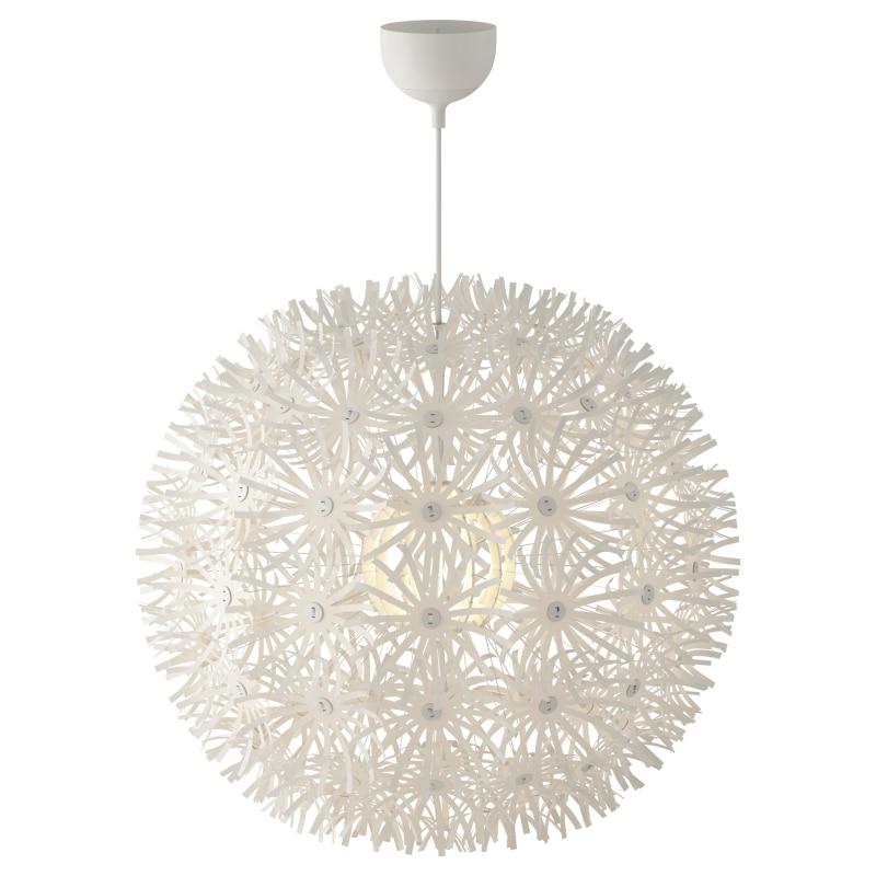 Pour Moderne Design Pissenlit Lampes Blanc Pendentif Chambre L3q5R4Aj