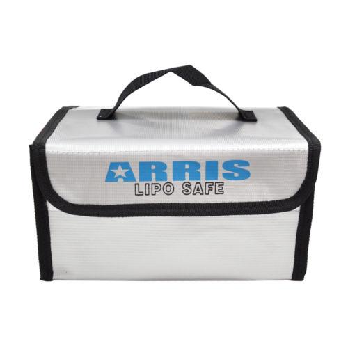 ARRIS Fire Retardant LiPo Battery Portable Safety Fireproof Case Bag Handbag Box 215*155*115mm For FPV RC Drones  QuadcopterARRIS Fire Retardant LiPo Battery Portable Safety Fireproof Case Bag Handbag Box 215*155*115mm For FPV RC Drones  Quadcopter