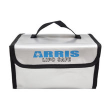 ARRIS Fire Retardant LiPo Battery Portable Safety Fireproof Case Bag Handbag Box 215*155*115mm For FPV RC Drones Quadcopter
