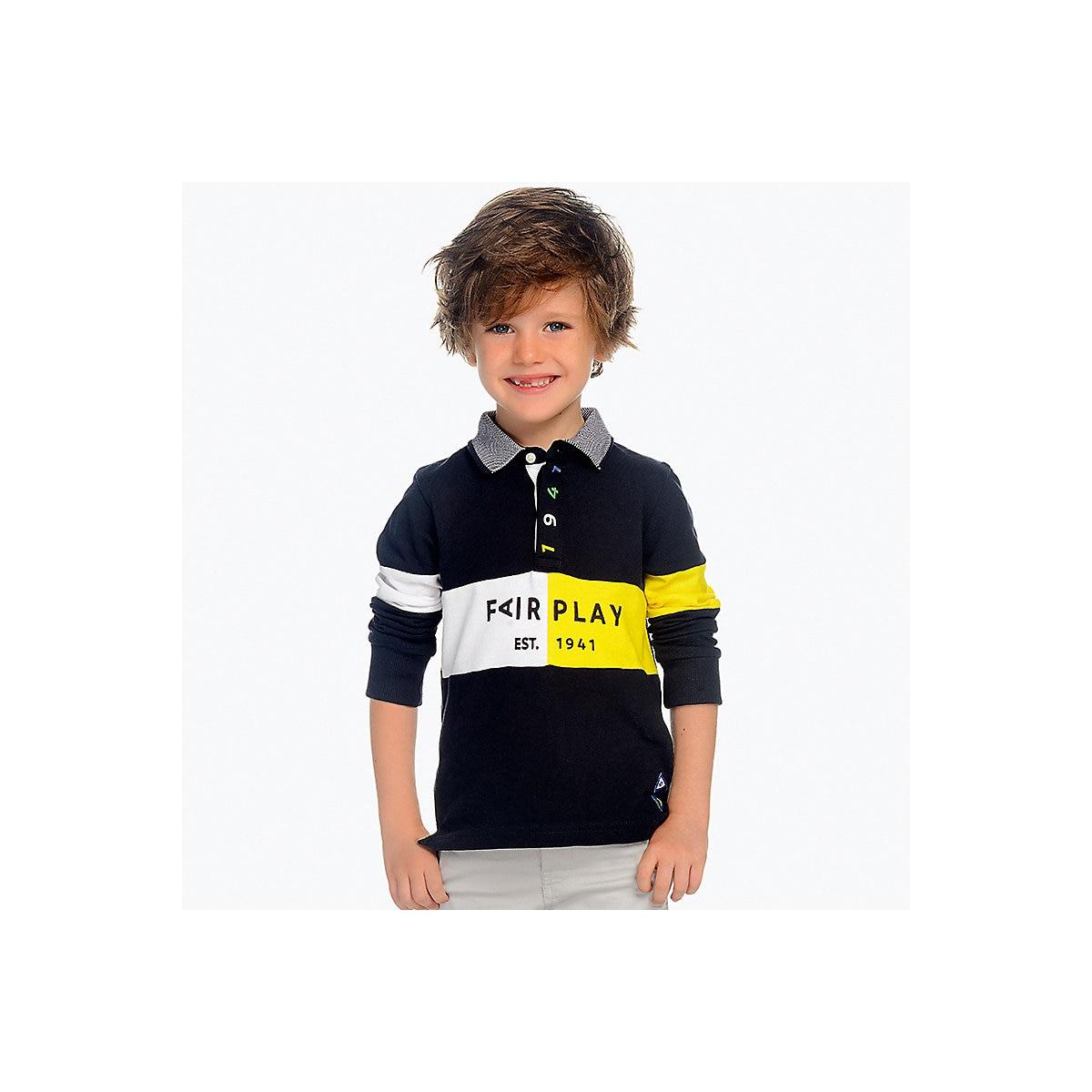 MAYORAL Polo Shirts 10687226 children clothing t-shirt shirt the print for boys