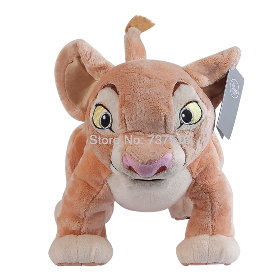 New Anime Movie The Lion King Nala Plush Doll Stuffed Animals Cute Soft Toys 15 inches Xmas Gift stuffed toy
