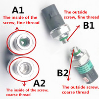 Car air conditioning pressure switch for Geely CK1 CK2 CK3