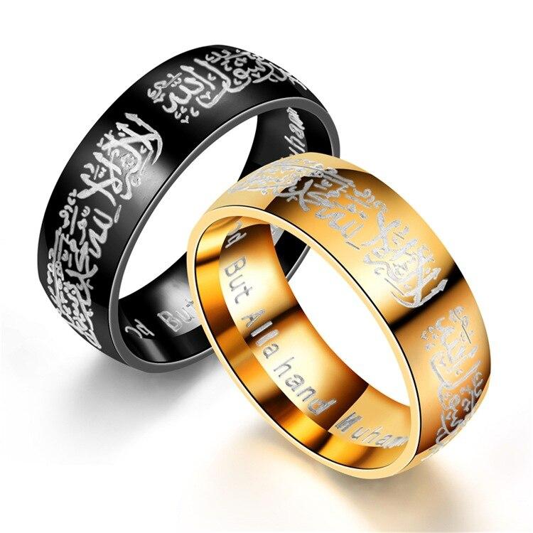 Titanium Black Dual Cable Freemason Masonic Relgious Mens Wedding Band 8MM
