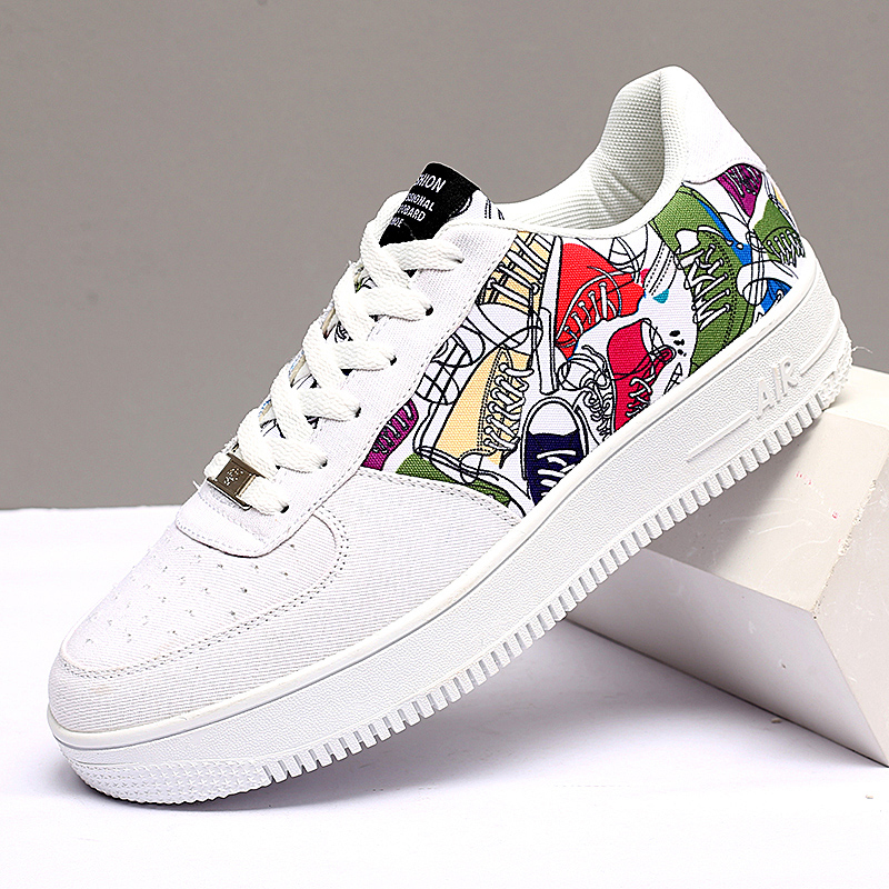 Men Women Super Cool Canvas Lace Up Sneakers Male Skateboarding Shoes Spring Summer Mens Athletic Sport Trainer Shoes
