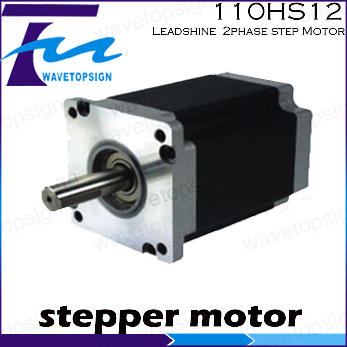 Leadshine  motor 110HS12 2phase step Motor for Laser cnc Machine 2phase Stepper motor leadshine 3 phase stepper motor 863s68h 3phase step motor laser engraver machine cnc router