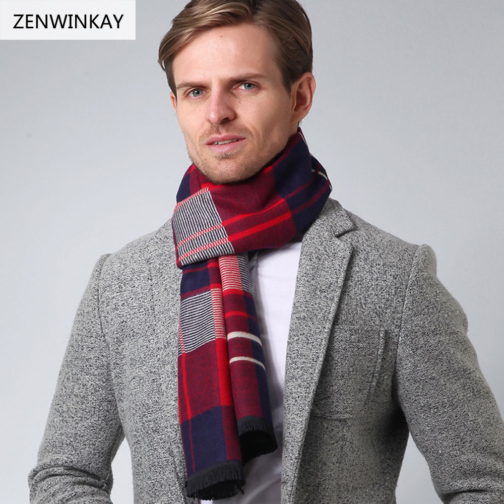 ZENWINKAY 01 Shawls and Scarves Cashmere Scarf Men Scarf ...