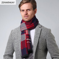 2017 Shawls And Scarves Cashmere Scarf Men Scarf Wool Scarf Pashmina Winter Warm Warp Male Plaid