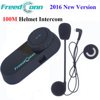 FreedConn Motorcycle Bluetooth Helmet Intercom Interphone Headset Motorcycle Helmets Headphone with FM TCOM OS