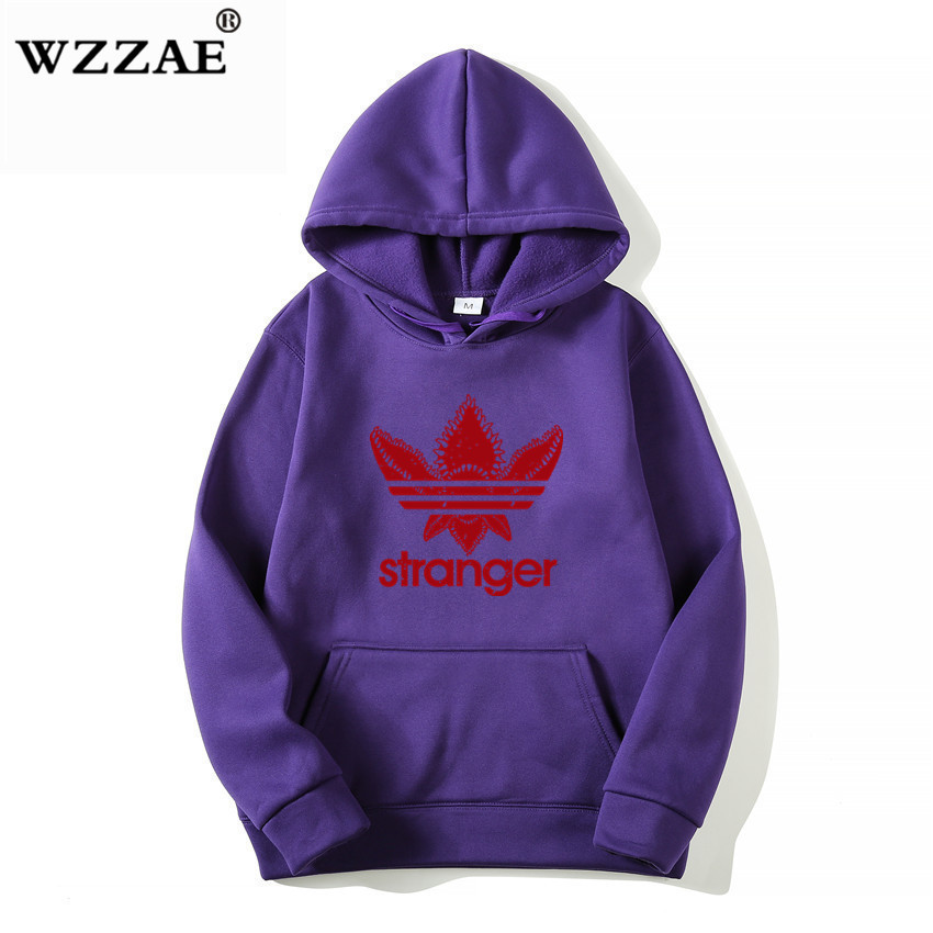 18 Brand New Fashion Stranger Things Cap Clothing Hooded Sweatshirt hoodies Men/Women Hip Hop Hoodies Plus Size Streetwear 4