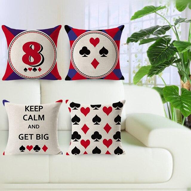 Cheap Price Home Decorative Pillow Linen Cushion Cover 4040 Custom Decorative Pillows Cheap Prices