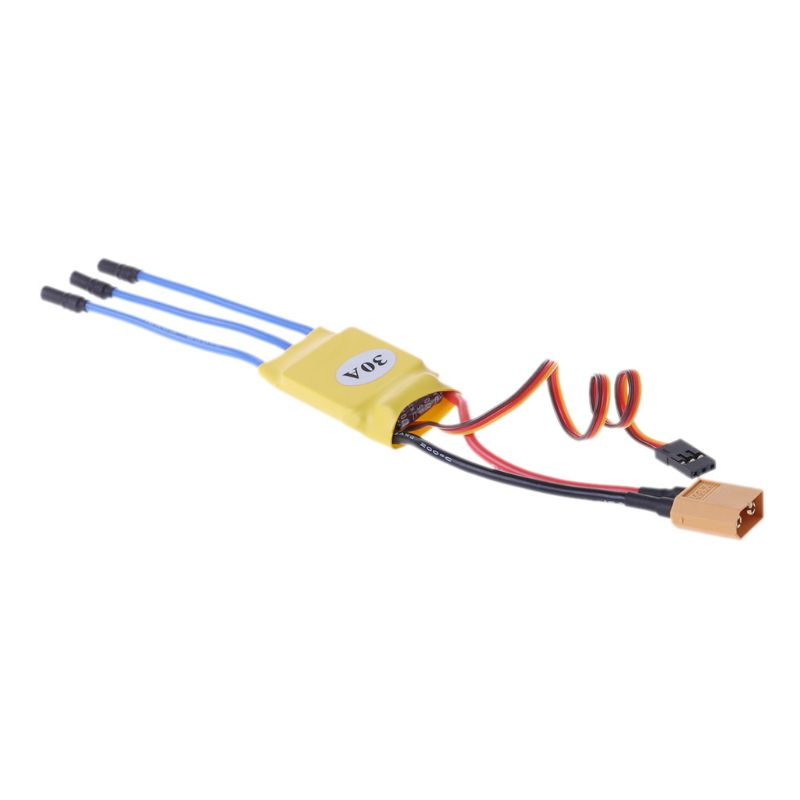 XXD 30A RC ESC Brushless Motor Speed Controller For T-rex 45