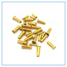 10 pc z mosiądzu do rur tuleja 4mm 6mm 8mm nylonowa rura rdzenia oleju przewody oleju tłoczarki do oleju mocowania rur opaska kompresyjna montażu tanie tanio Mężczyzna Miedzi Równe Round