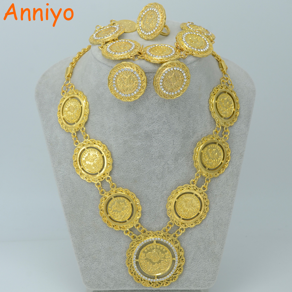 Modeschmuck gold set  Online Kaufen Großhandel türkischen gold schmuck aus China ...