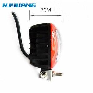 Image 5 - 2pcs LED עבודת מנורת 30W 12V 24V Led רכב ספוט אור לאדה ניבה טויוטה אופנוע טרקטור אוטומטי עבודת LED אור בר