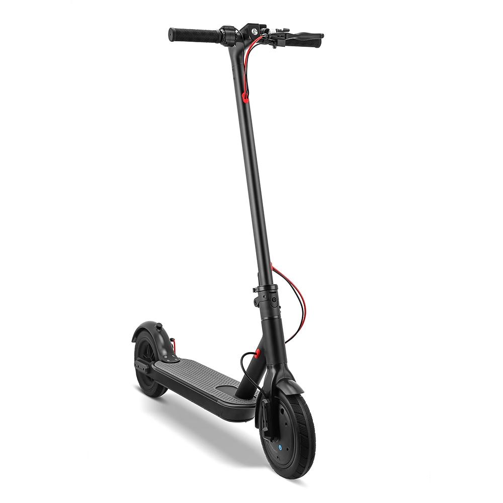 RU DE 8.5 pouces deux roues Scooter électrique pliant Longboard électrique intelligent avec lumière LED BL WH KV986 25 km/h