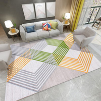 Nordic Line Carpets For Living Room Modern Bedroom Rug Thick Polypropylene Floor Mat Sofa Coffee Table Rugs Study Room Carpets