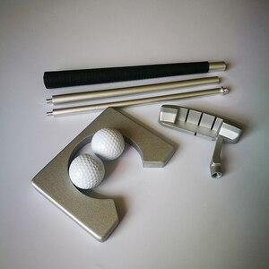 Image 3 - Golf Putter Putting Trainer Mini Golfuitrusting Practice Kit Reizen Praktijk Indoor Golfs Accessoires Golf Training Aids Tool