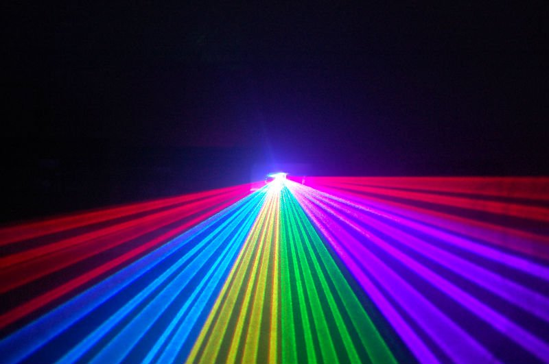 laser projector 600mw RGB color laser dj lighting for disco party ...