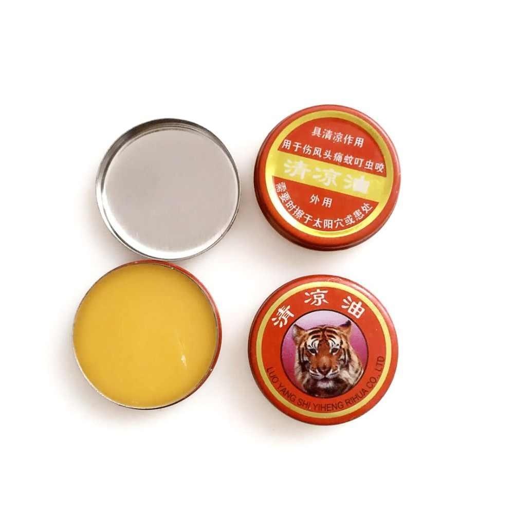 DISAAR Tiger Kopf Cremes Red Tiger Balm Aktive Meridiane Ätherisches Öl für Rheumatoider Arthritis Lenden Zervikale Spondylose