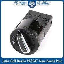Chrome Управление Туман Глава потолочная лампа с ИК датчиком-выключателем для Фольксваген Jetta GOLF BEETLE PASSAT New Beetle, sharan Polo Lupo 3BD 941 531