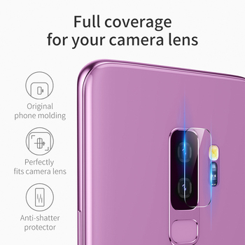 Baseus 0.15mm Ultra Thin Camera Lens Protector For Samsung S9 9H Scratch Proof Camera Lens Glass For Samsung Galaxy S9 S9 Plus 1