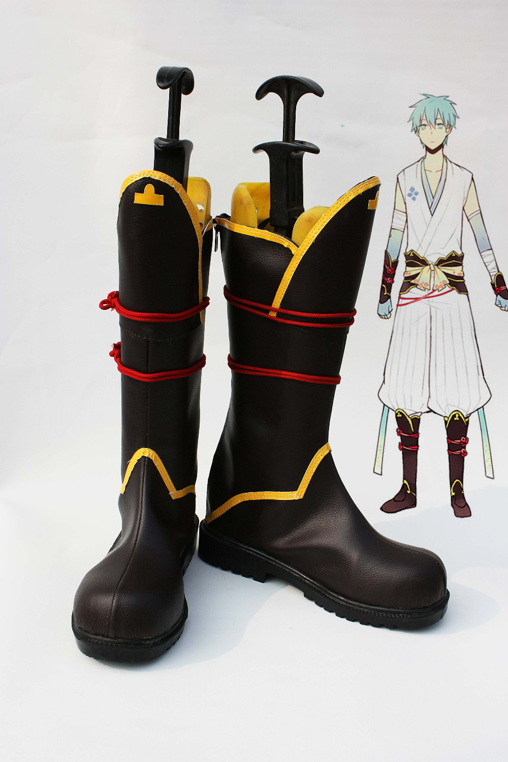 US $56.44 17% OFF|Anime Shoes Kuroko's Basket ball Kuroko Tetsuya Cosplay Boots in Shoes from Novelty & Special Use on AliExpress