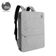 цены на Cai Brand Unisex Fashion Casual Business Backpacks Suitcase Design Waterproof Laptop Backpack Men Women Travel Bags Mochila  в интернет-магазинах