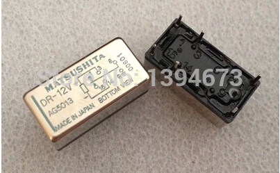 HOT NEW DR-12V DR 12V 12VDC DC12V MATSUSH / NAIS DIP6 hot new relay g8qe 1a 12vdc g8qe 1a 12vdc g8qe1a 12vdc dc12v 12v dip6 5pcs lot