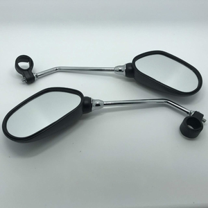 Image 5 - 1 Pair Bike Rearview Mirror Safety Bicycle Rear View Glass Mirrors Adjustable Cycling Rearview Left Right Mirror