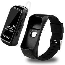 Bluetooth Smart Band talkband B7 сердечного ритма Мониторы Смарт часы браслет Спорт Здоровье группа с плеера ответ на вызов