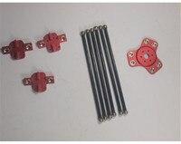 Funssor Kossel XL magnetic effector+carriage+ carbon tube Diagonal push rods kit for DIY Delta kossel 3d printer