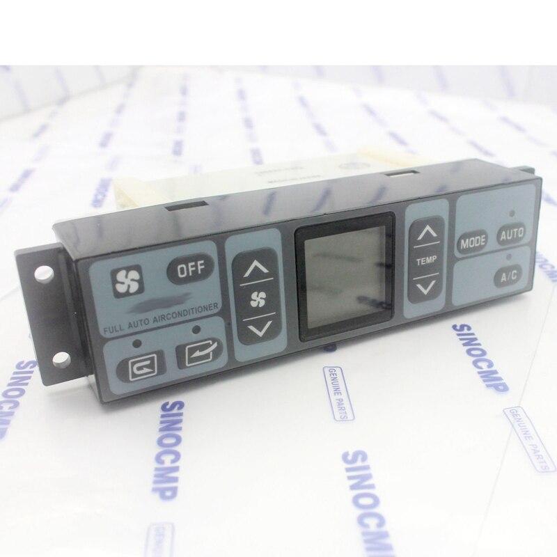 Air Conditioner Controller 4431080 146430-8272 For Hitachi ZX120 ZX180 Excavator , 6 Month Warranty