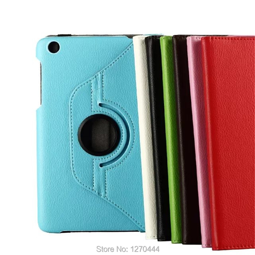 360 Rotating Litchi skin PU Leather case cover capa para Lenovo tab A8-50 A5500 (A5500-h / A5500-f)Tablet PC+Screen+stylus - Shenzhen Spring Electronic co., LTD store
