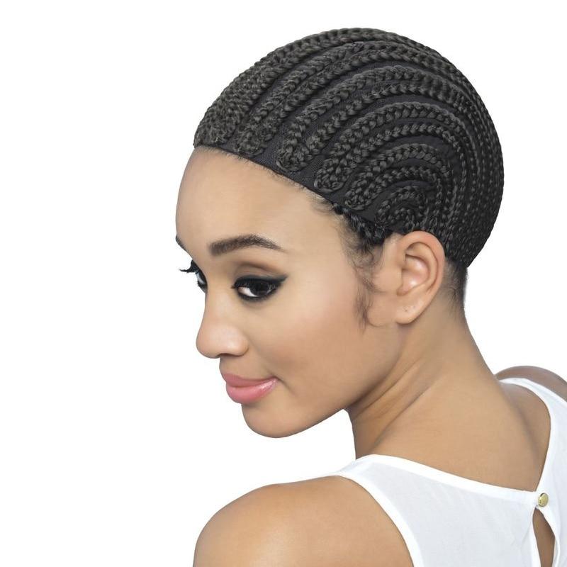New Sale 5pcslot Crochet Braid Wig Caps Cornrow Lace Wig Caps For
