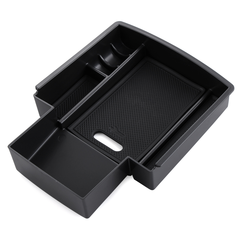 Image 2 - For Audi A4 B8 A5 S5 2009 2016 Central Armrest Storage Box Container Holder Tray Car Organizer Accessories Car Styling-in Car Stickers from Automobiles & Motorcycles