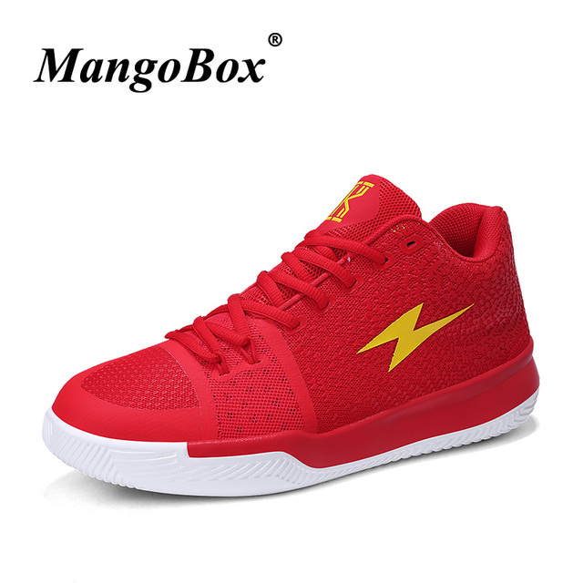 bc85dae0008b Cool Basketball Sneakers Men Ladies Low Top Basketball Shoes Red Black  Children Basket Shoes Boy Athletic Shoes Sport Trainers