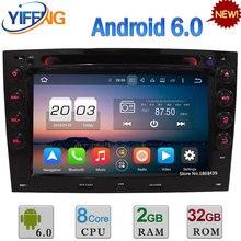7″ Octa Core WIFI Android 6.0 4GB RAM 32GB ROM 4G DAB+ Car DVD Multimedia Radio Audio GPS Player For Renault Megane 2 2003-2010