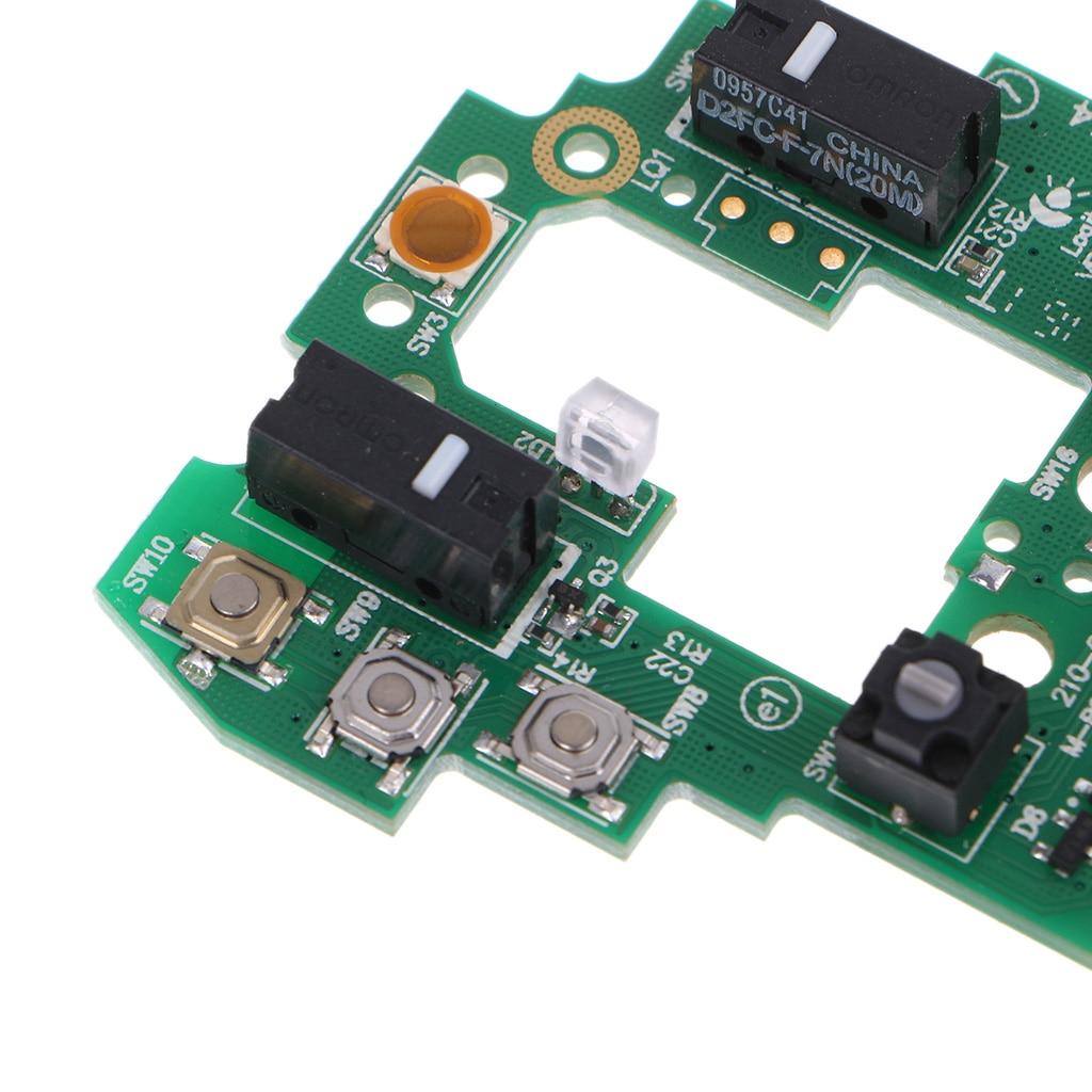 Ratón placa base superior de la placa base clave junta para Logitech G700 G700S de ratón de juego