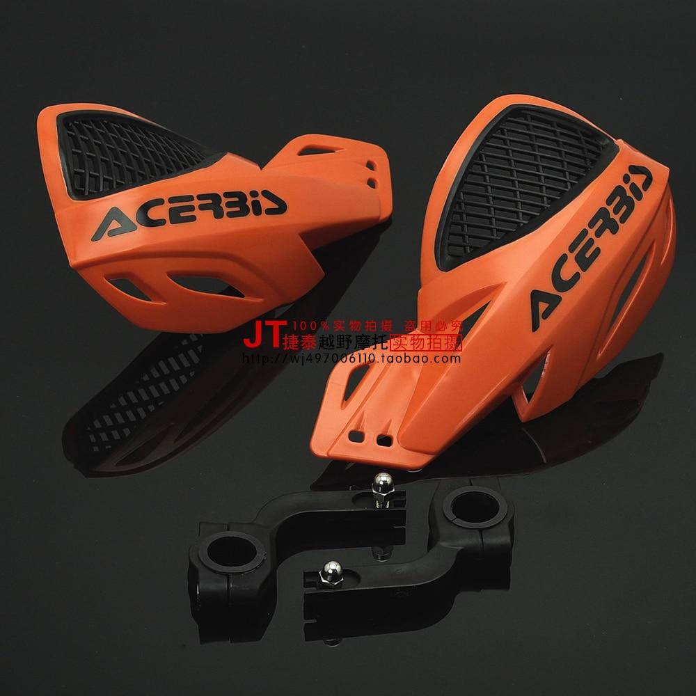 28mm handlebar moto cross 22mm hand guard KTM EXC SXF YZF CRF KXF Pit dirt bike pit bike motorcycle accessories free shipping(China)